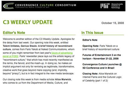C3 Newsletter