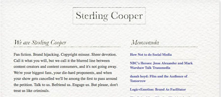 We are sterling cooper