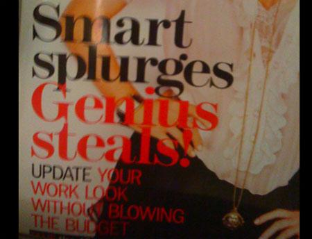 Smart splurges