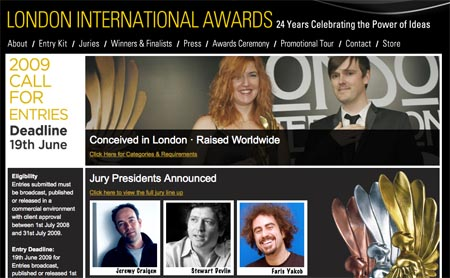 London Awards Jury