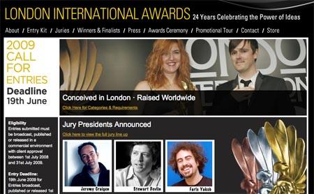 London Awards Jury