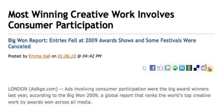 Consumer participation
