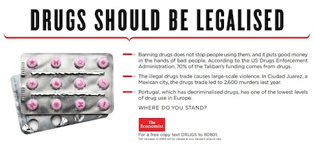 Drugs should be legalised - economist
