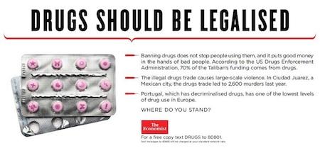Drugs should be legalised - economist