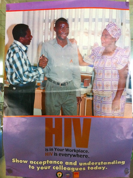 HIV is everywhere