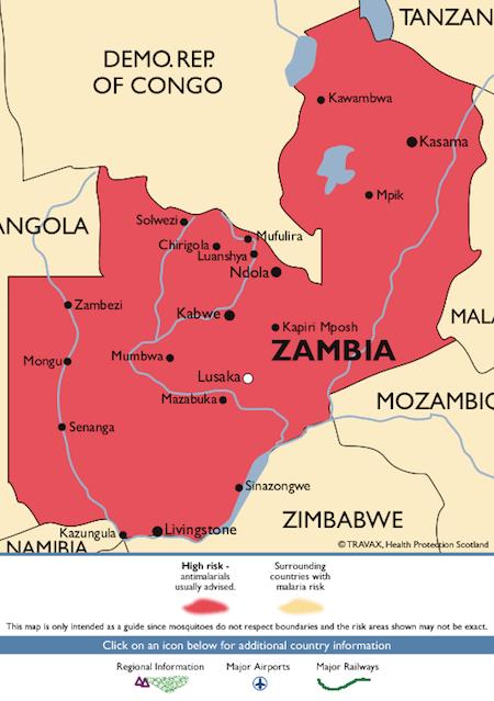 Malaria in zambia