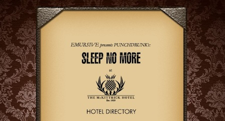 Punchdrink Sleep No More