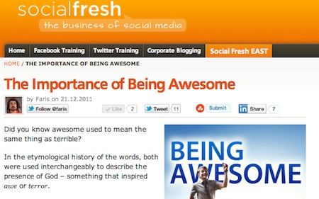 Socialfreshawesome