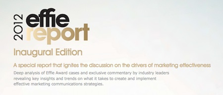 2012 Effie Report