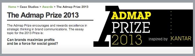 Admap Prize 2013