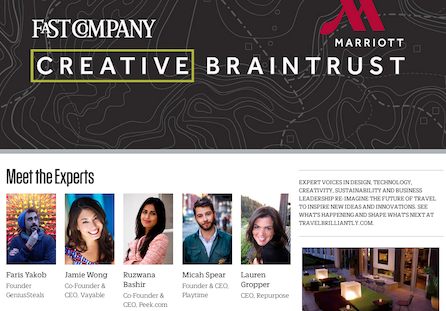 Fast Company Creative Braintrust