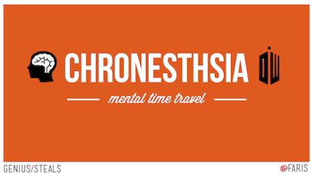 Chronesthesia Genius Steals