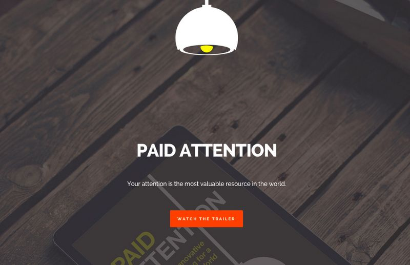 Paid attention grab